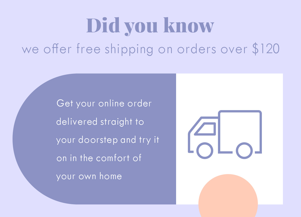 Free shipping Over $120
